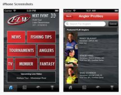 The FLW Tournament Bass Fishing app is now available for your IPhone.