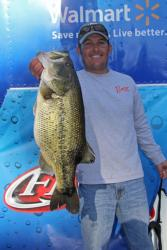 Dustin Grice caught the leading sack on swimbaits and spinnerbaits.