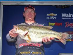 This 10-pound, 6-ounce whopper earned Big Bass honors on the pro side for Tommy Rascoe.