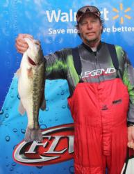 Day two saw Jim Furr race up the standing from 54th to first in the co-angler division.
