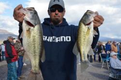 Bolstered by a total catch of 11 pounds, 4 ounces, Chris Trumbull of Oakley, Calif., grabbed second place overall in the Co-angler Division at Lake Roosevelt.