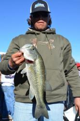 Pro Levi Armstrong of Payson, Ariz., used a two-day catch of 18 pounds, 14 ounces to finish third heading into the finals on Lake Roosevelt.