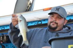 Co-angler David Avina of Sun City, Calif., finished in third place at the Lake Roosevelt event for his second straight top-10 finish on the EverStart Series circuit.