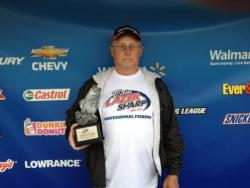 Co-angler Jimmy Sparks of Tuscumbia, Ala., won the Feb. 23 Music City Division event on Lake Guntersville with a total weight of 27 pounds, 9 ounces. For his efforts, Sparks walked away with nearly $1,700.