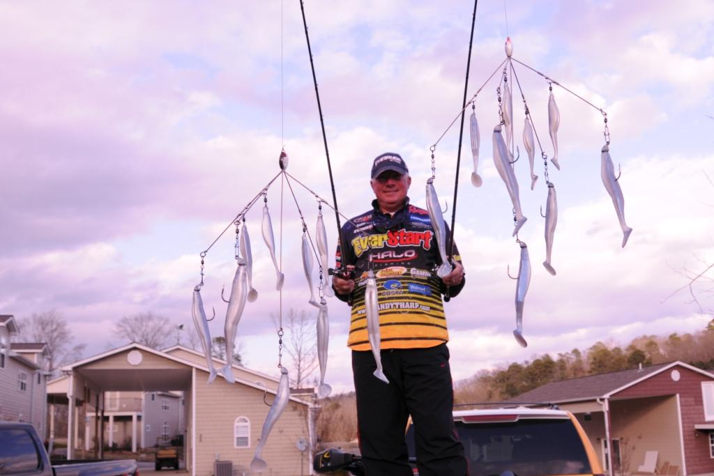 The a rig a volution flw fishing articles for Alabama rig fishing