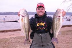 Shaye Baker of Tallassee, Ala., is in fifth place after day one with 26-6.