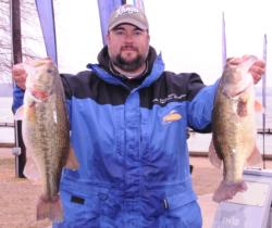 Sean Skey of Sumter, S.C., finished fifth with a three-day total of 69 pounds, 15 ounces for $8,000.