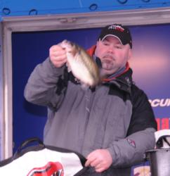 Paul Palmer had the biggest limit on day three among co-anglers.