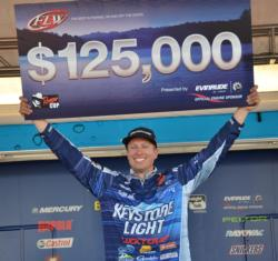 Keystone Light team pro Brent Ehrler.