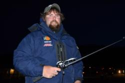 Payden Hibdon hopes his jerkbait will be the key to success on the Lake of the Ozarks.