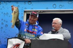 Dennis Berhorst settled in fourth place with a three-day total of 45 pounds.