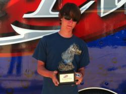 Co-angler Tyler Morgan of Columbus, Ga., won the March 16 Bulldog Division event on Lake Seminole with a limit that weighed 15 pounds, 8 ounces. He earned a check for more then $2,000 for his victory.