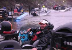 Chad Prough, who won the BFL on Seminole several weeks ago will be likely be looking for spawners again today.
