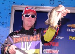 Barry Wilson of Birmingham, Ala., finished fourth with a three-day total of 49 pounds, 13 ounces.