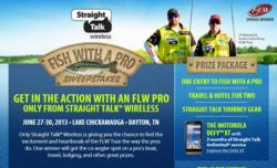 Straight Talk Fish With a Pro sweepstakes