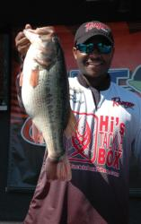Southwest Division Champion boater Mark Daniels Jr., of Fairfield, Calif., caught a limit of bass weighing 24 pounds, 10 ounces, bringing his two day total 43 pounds. Daniels leads all competitors into the finals of the 2013 TBF National Championship.