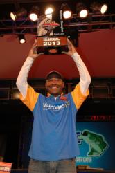Boater Mark Daniels Jr., of Fairfield, Calif., took home the title of 2013 Federation National Champion with a total catch of 62 pounds, 4 ounces.