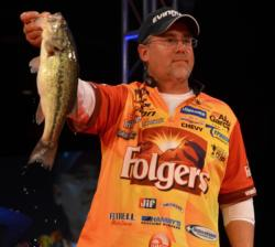 Scott Suggs finished the FLW Tour event on Beaver Lake in fifth place.