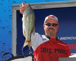 Local pro  Spencer McAlester took fifth place on Texoma.