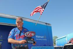 Co-angler winner  Ray Peace carried over his lead from day two.