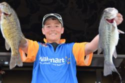 Idaho student Jake Beahm finished the TBF High School Fishing National Championship in second place.