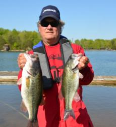 Brent Chapman of Union Hall, Va., found the second-place position with 11 pounds, 4 ounces worth of Smith Mountain Lake bass.