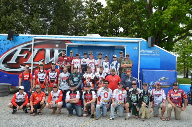 Flw college fishing northern conference opens on smith for Flw college fishing