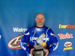 Co-angler Alan Bernicky of Joliet, Ill., won the April 27 Illini event on Rend Lake with three bass totaling 10 pounds, 4 ounces. For his efforts, Bernicky earned a check worth over $2,100.