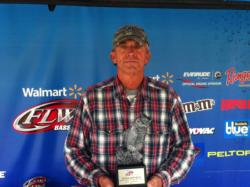 Co-angler Gerald Glouse of Easley, S.C., won the April 27 Savannah River Division event on Lake Hartwell with 14 pounds, 5 ounces. He was awarded over $2,200 in prize money for his victory.