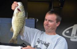 Pro David Suratt of Leoma, Tenn., parlayed a catch of 72 pounds, 5 ounces into a third-place finish on Pickwick Lake.