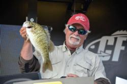 Pro Kevin E. Wright of Waterloo, Ala., finished the EverStart Series Pickwick event in fourth place.