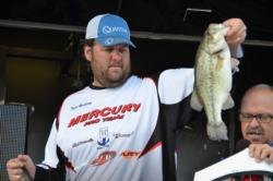 Pro Todd Rasberry of Killen, Ala., finished the EverStart Series Central Division event on Pickwick Lake in sixth place.