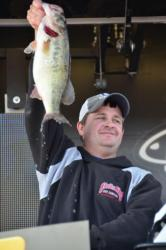 Co-angler Jason Smith of Killen, Ala., used a total catch of 56 pounds, 3 ounces to capture second place overall at the EverStart Series event on Pickwick Lake.