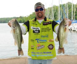 JT Kenney of Palm Bay, Fla., makes yet another top 10 in EverStart competition at Wheeler Lake.