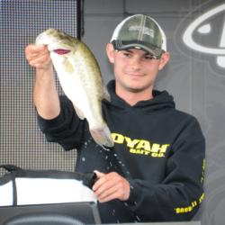Jordan Lee of Auburn, Ala., finished fourth with a three-day total of 54 pounds, 8 ounces.