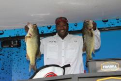 Top co-angler  Dante Ray caught the day