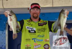 JT Kenney rose to second after catching a 14-pound, 3-ounce stringer on day three.