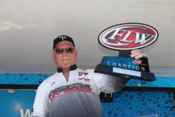 Jim Moulton claimed his first EverStart victory on the Cal Delta.
