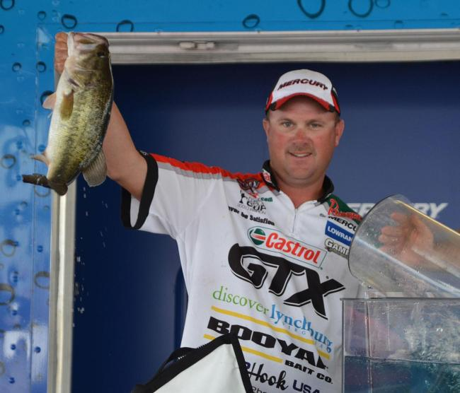 David Dudley finished the Lake Eufaula event in fourth place with 60 pounds, 12 ounces.