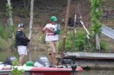 Next cast Jarabeck hooks a better fish.