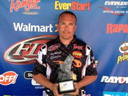 Co-angler Lucas McDaniel of Carmel, Ind., won the June 8 BFL Hoosier Division event on Lake Patoka with a total catch of 7 pounds, 6 ounces.