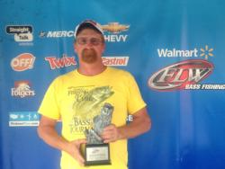 Co-angler Tony Collins of Cohutta, Ga., won the June 8 BFL event on Lake Guntersville with a catch weighing 24 pounds, 3 ounces.