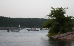 A lake wind advisory on Kentucky Lake could give EverStart competitors a rough ride.