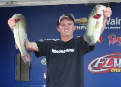 Ben Jackson claimed a 2-pound, 1-ounce lead in the Co-angler Division with a day-one catch of 19 pounds, 2 ounces.