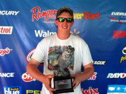Co-angler Chris Jackson of Marshall, Va., won the June 15 Shenandoah Division event on the Potomac River with a 13-pound, 12-ounce limit. Jackson took home a check worth nearly $2,200 for his victory.