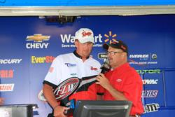 Aggressive jigging action was the key for Bryan Schmitt on day three.