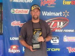 Co-angler Brad Wright of Granite Falls, N.C., won the June 22 North Carolina Division event on Kerr Lake with a 10-pound, 12-ounce limit. For his efforts, Wright earned a check for over $1,600.