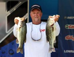 In fourth place, Maurice Freeze fished a mix of reaction and flipping baits.