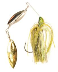 One of the best tests of balance in a spinnerbait is how straight it stays at high speeds.