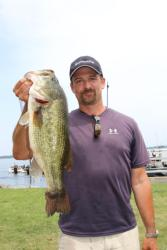 Connecticut pro Chris Blanc earned Big Bass honors with his 6-pound, 1-ounce largemouth.